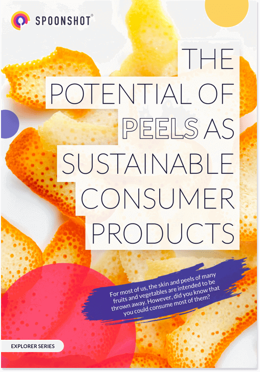 The potential of peels as sustainable consumer products