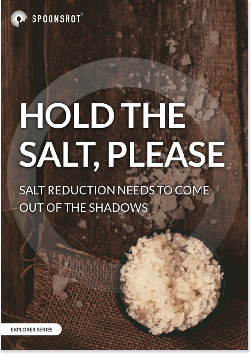 Hold the salt, please: Salt reduction needs to come out of the shadows