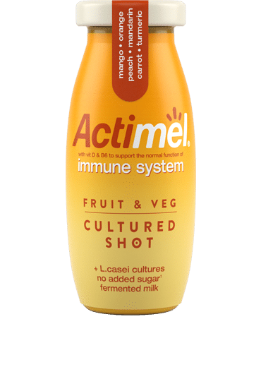actimel shot for boosting immunity