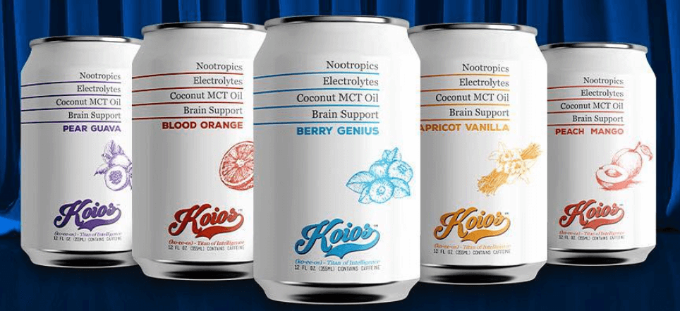 koios is a functional beverage brand