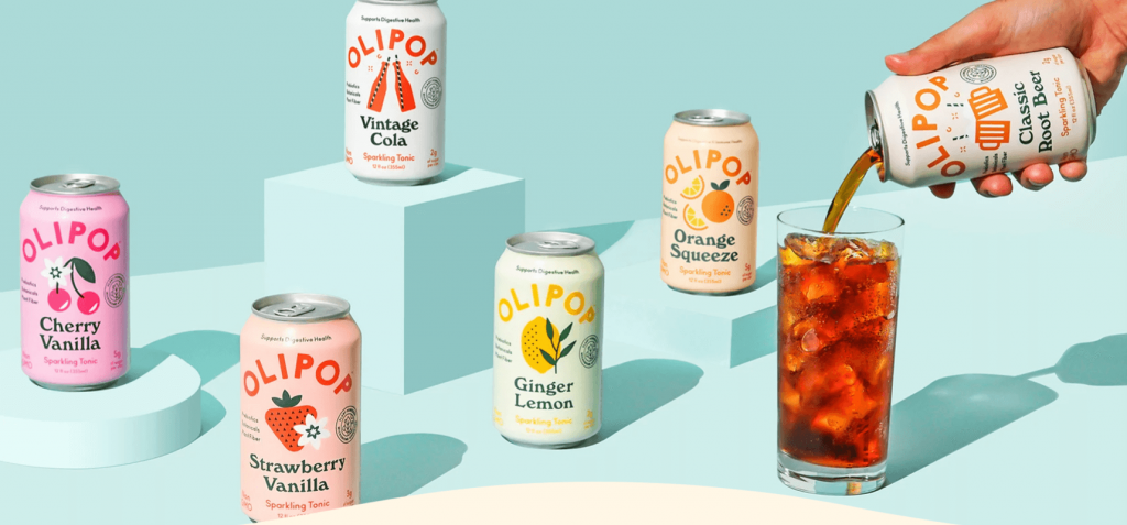 olipop is a functional soda brand that has witnessed growth in the past