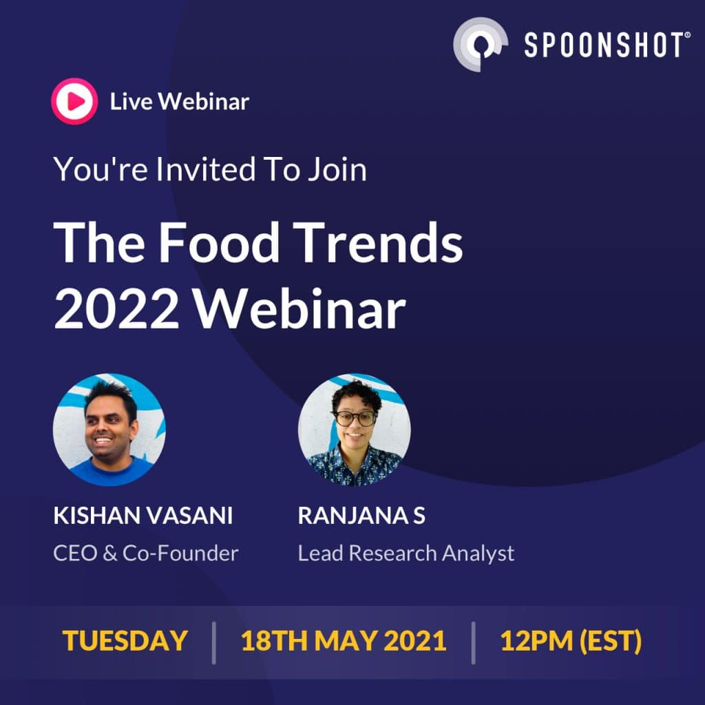 food trend predictions for 2022 live webinar