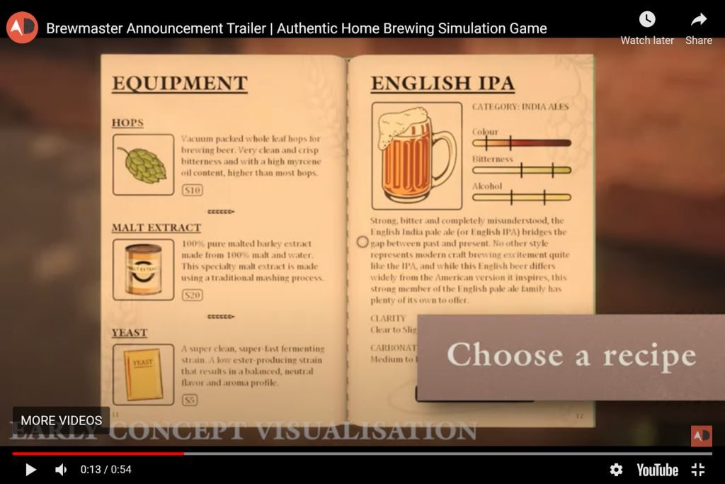 Brewmaster's Authentic Home Brewing Stimulation