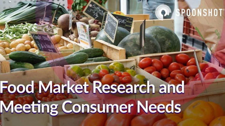 food market research and meeting consumer needs