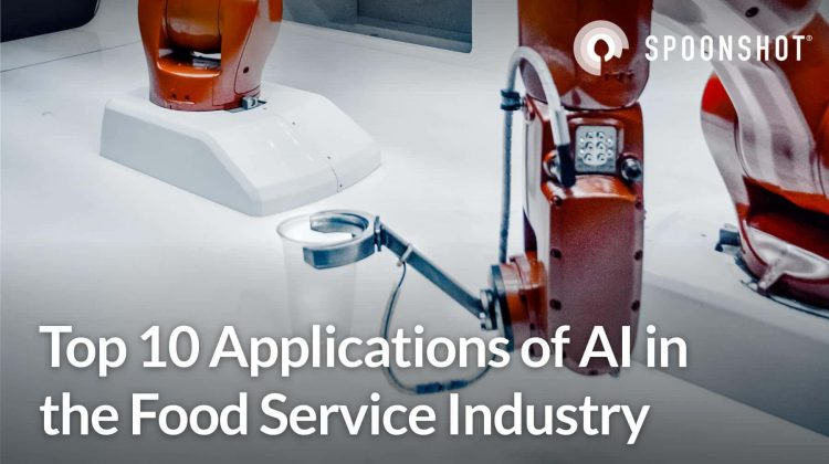 applications of AI in food service industry